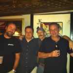 Dave and the Guys, Rich, Les III, and Mike.